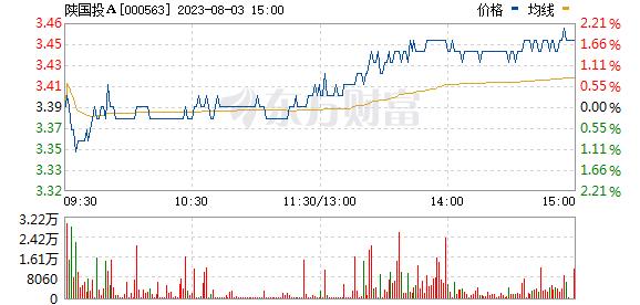 陕国投A(000563)