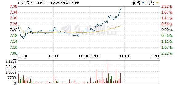 中油资本(000617)