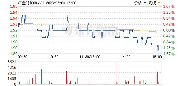 金鸿控股(000669)