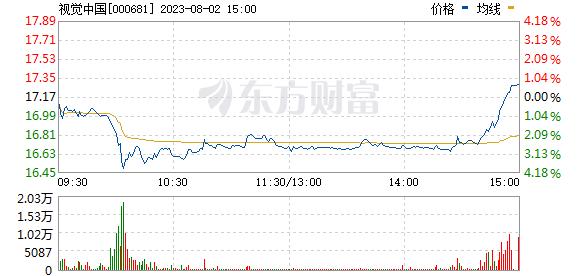 视觉中国(000681)
