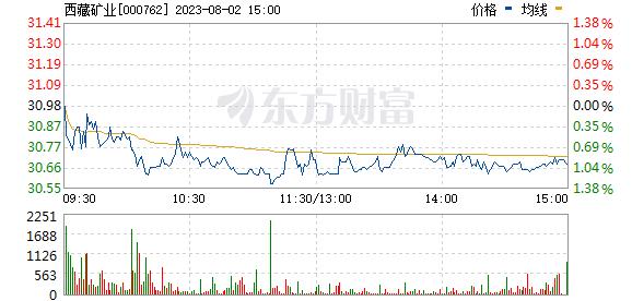 西藏矿业(000762)