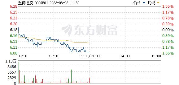 重药控股(000950)