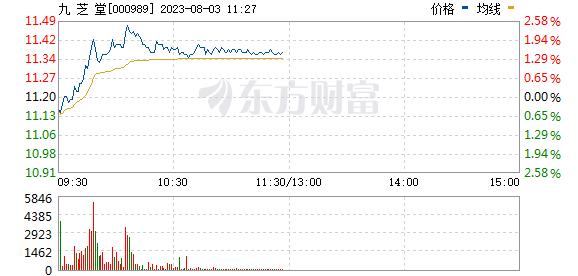 九 芝 堂(000989)