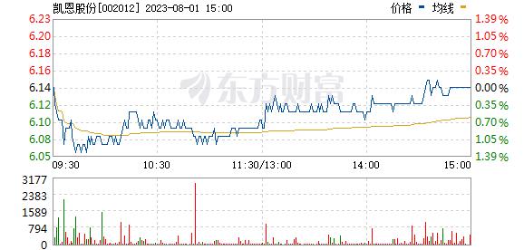 凯恩股份(002012)