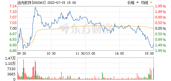 远光软件(002063)