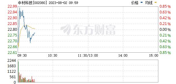 中材科技(002080)
