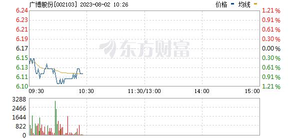 广博股份(002103)
