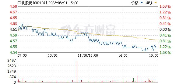 兴化股份(002109)