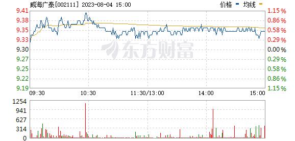 威海广泰(002111)