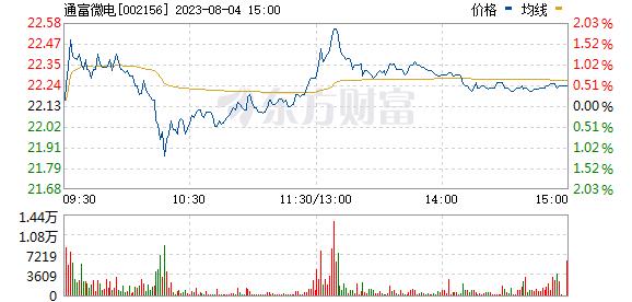 通富微电(002156)