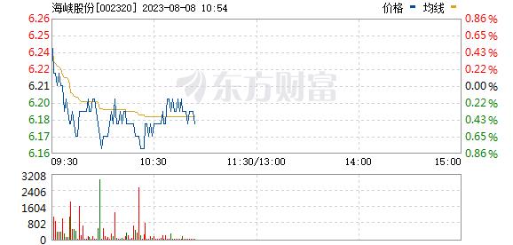 海峡股份(002320)