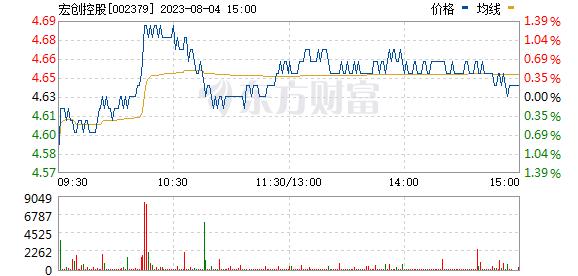宏创控股(002379)