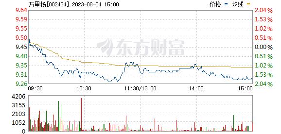 万里扬(002434)