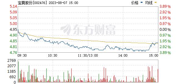 宝莫股份(002476)