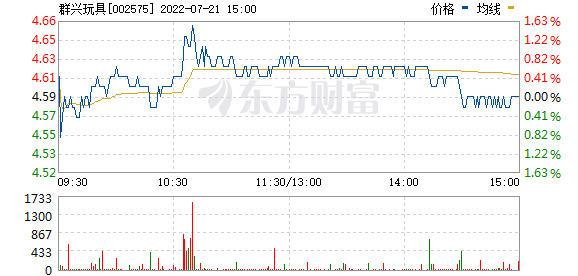 群兴玩具(002575)