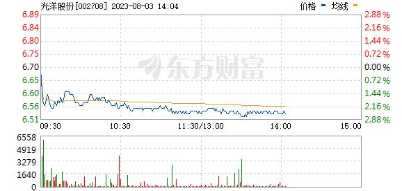 光洋股份(002708)