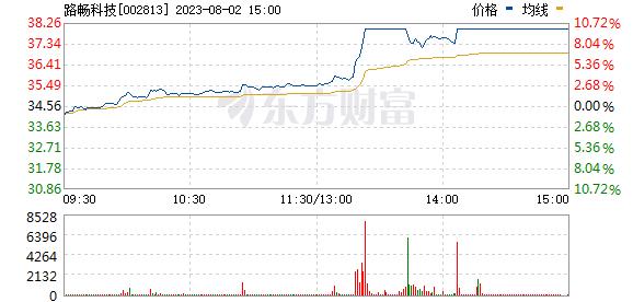 路畅科技(002813)