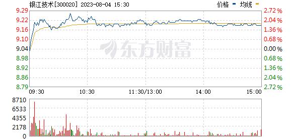 银江股份(300020)