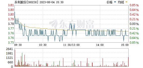 永利股份(300230)