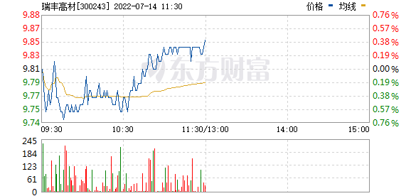 瑞丰高材(300243)