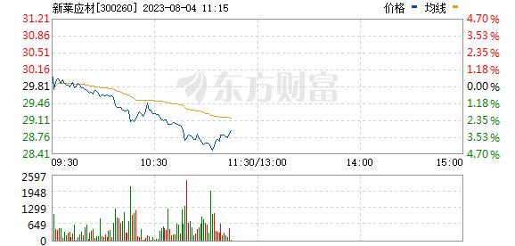 新莱应材(300260)