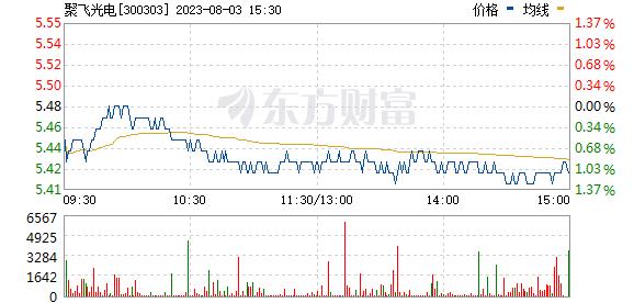 聚飞光电(300303)