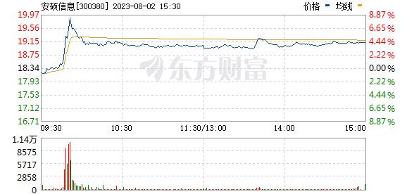 安硕信息(300380)