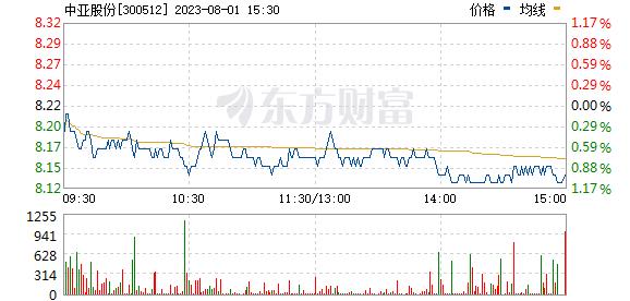 中亚股份(300512)