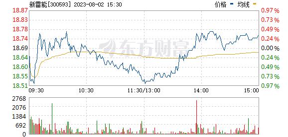 新雷能(300593)