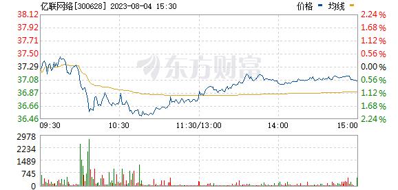 亿联网络(300628)