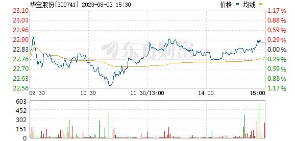 华宝股份(300741)