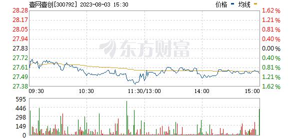 壹网壹创(300792)