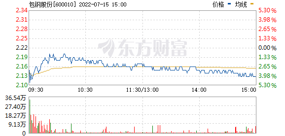 包钢股份(600010)