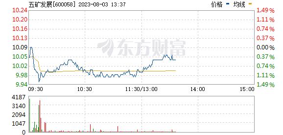 五矿发展(600058)
