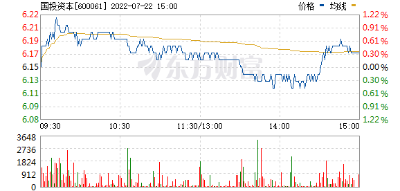 国投资本(600061)