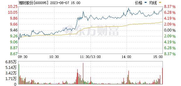 哈高科(600095)