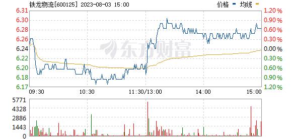 铁龙物流(600125)