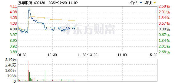 波导股份(600130)