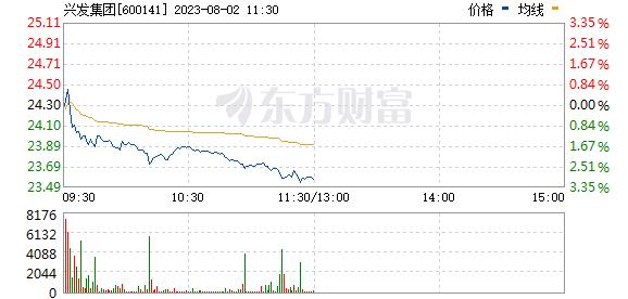 兴发集团(600141)
