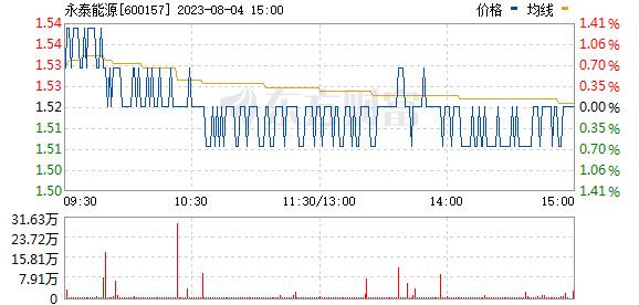 永泰能源(600157)