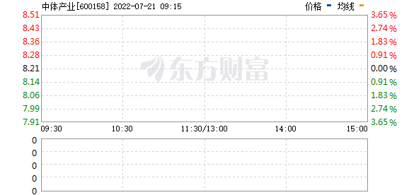 中体产业(600158)