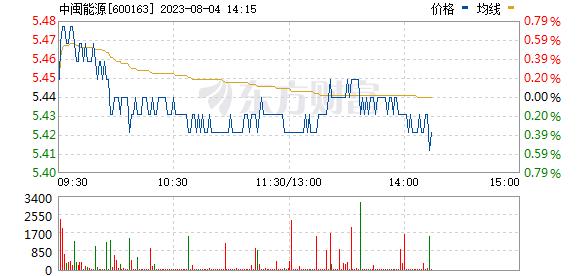 中闽能源(600163)