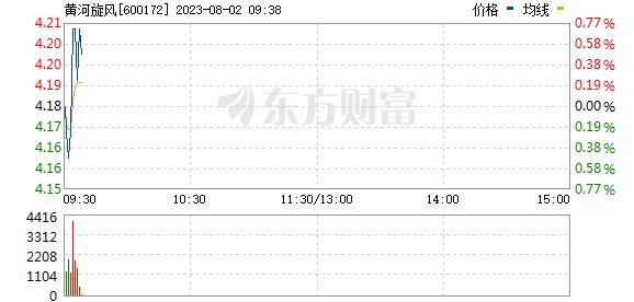 黄河旋风(600172)