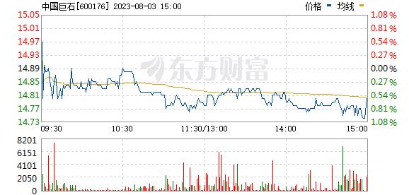 中国巨石(600176)