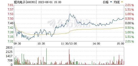 旭光股份(600353)
