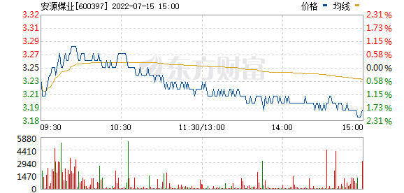 安源煤业(600397)