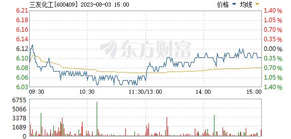 三友化工(600409)
