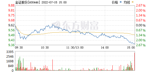 金证股份(600446)