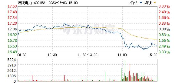涪陵电力(600452)