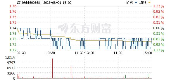 中珠医疗(600568)